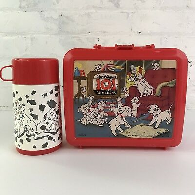 Disney 101 Dalmations Aladdin Thermos Lunchbox Thermos
