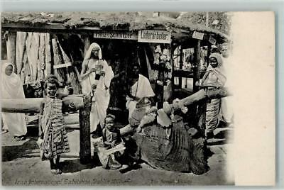 13181733 - Dublin Irish International Exhibition 1907 The Somali Village