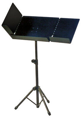 XTREME - Deluxe conductor's music stand *NEW* Adjustable, fold-out leaves