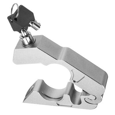 Motorcycle Handlebar Lock Brake Clutch Safety Security Theft with 2 Keys H0J1