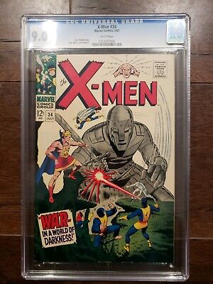 X-Men #34 CGC 9.0 White Pages