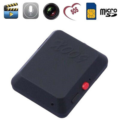 MINI GPS Tracking SIM GSM Pour Car Motorcycle Monitor Tracker Traceur