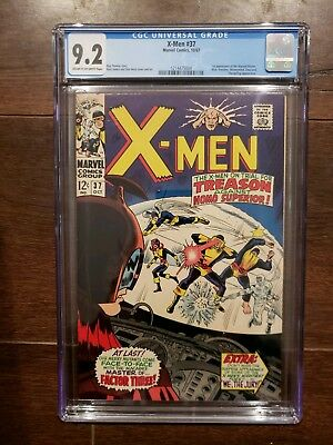 X-Men #37 CGC 9.2 First Appearance Of The Mutant -Master