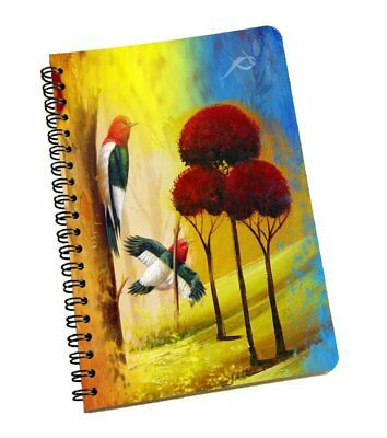 A5 Nature Bullet Journal Notebook Medium Hardcover, 120 Pages Dot Grid Journal
