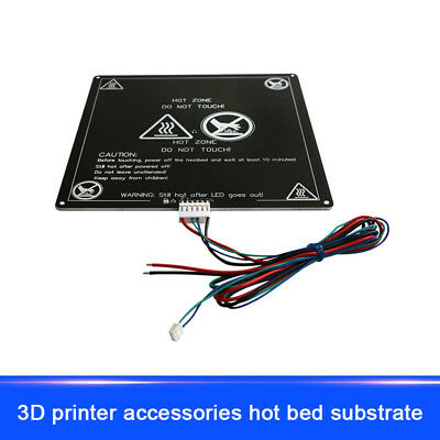 RepRap 3D Printer Heatbed MK2B 12V//24V PCB Hot Plate Heat Bed For Prusa Mende SI