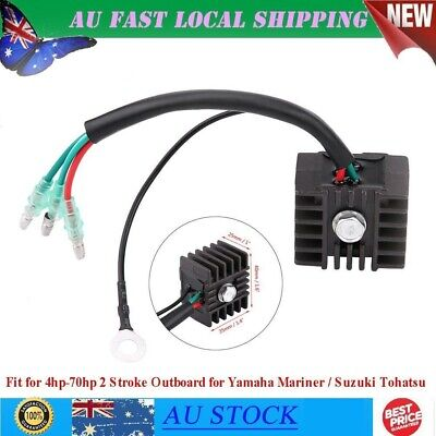 Replacing Voltage Rectifier Voltage Dissipate For 4hp-70hp 2 Stroke Outboard