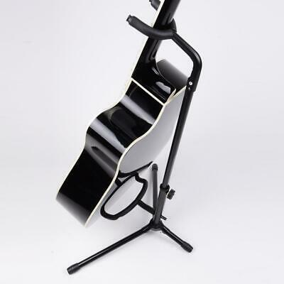 New Black Guitar Stand On Stage Single Bass Guitar Display