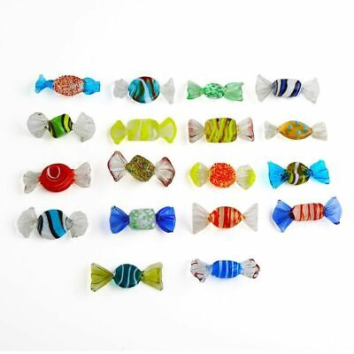 18pcs Vintage Murano Glass Candy Sweets Wedding Xmas Party Decorations Gift UK