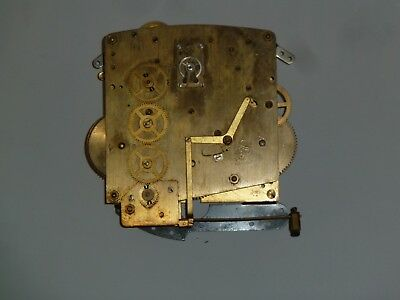 Perivale 1930's Westminster chime clock movement for spares - platform escape