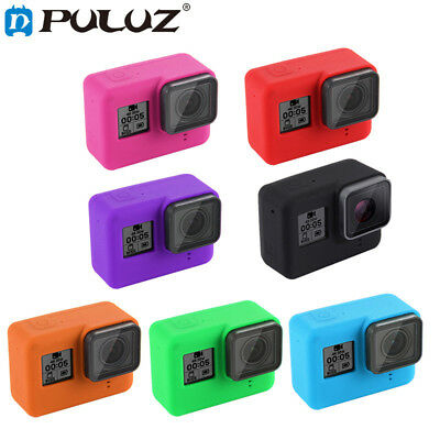 Silicone Protective Housing Case + Lens Cap Cover For GoPro HERO 6 / 5 Xmas Gift