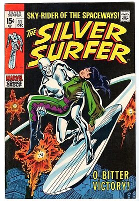 Silver Surfer #11, Very Fine - Near Mint Condition