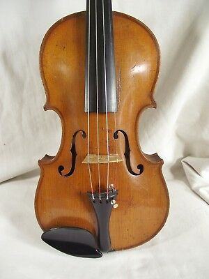 Dh8.  Fine Quality 3/4 Size Antique Violin. Stainer Copy. Good Playing Order.