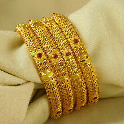 Bridal & Wedding Party Jewelry 100% True Bollywood Bridal Red Kaleera Ethnic Chura Kalire Indian Dulhan Kalira Set 1 Pair