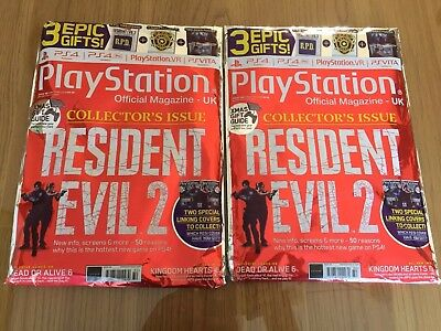 Playstation Magazine UK: Resident Evil 2 Collector's Issue- Expedited post US EU