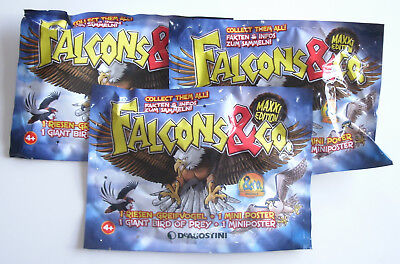 DeAgostini Falcons & Co. Maxxi Edition - 3 x Booster NEU & OVP