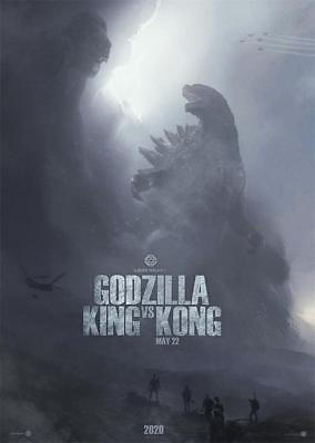 "Godzilla vs. Kong Movie Poster 18x12 36x24 40x27"" Print Decor Size For You"