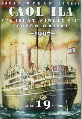 Caol Ila 1991 - Jack Wiebers Great Ocean Liners - Rare Limited Edition Whisky
