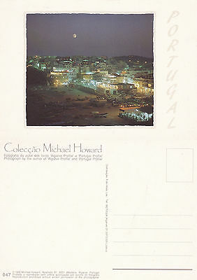 1990's PORTUGAL BY NIGHT PORTUGAL UNUSED COLOUR POSTCARD
