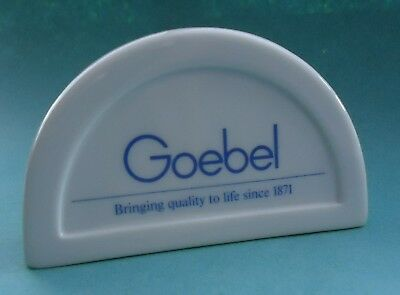 Goebel West Germany Point of Sale Sign