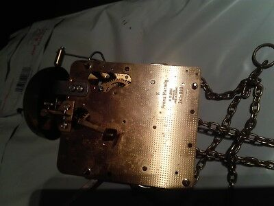 Hermle 241-080 longcase clock movement and parts spares repair