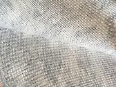 Vintage Marble 18 Count Zweigart Aida cross stitch fabric - various size options