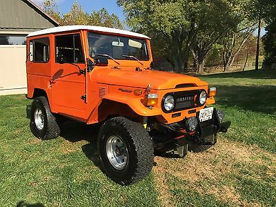 1974 Toyota Land Cruiser FJ-40 Toyota FJ40 Land Cruiser - SPECIAL DEAL! NO RUST! Power Steering, 4 Speed