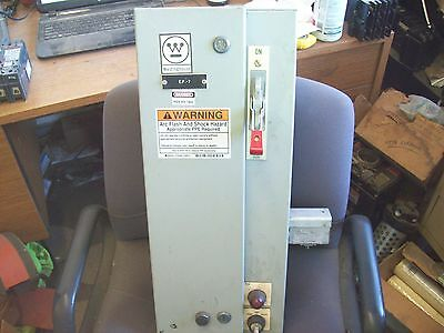 Westinghouse Combination Starter Size 1 30 Amp Hmcp Breaker A206S1Mdac