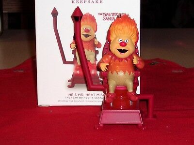 2018 Hallmark HE'S MR. HEAT MISER  from The Year without a Santa Claus MIMB