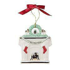 Spode Christmas Tree Holiday Our New First Home Fireplace 2018 Ornament New Box
