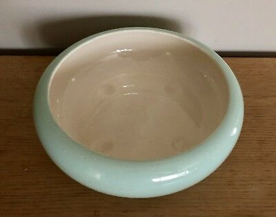 Mid-Century Extra Large Aqua California Pottery Bowl/Planter,Heavy,Frank Moreno?