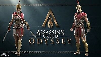 Assassin's Creed Odyssey Ultimate + IV: Black Flag + Origins | Steam Access |