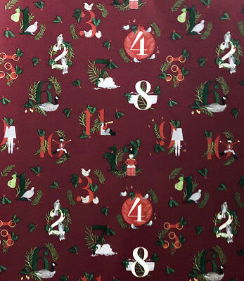 Luxury Christmas Wrapping Paper Xmas Present Gift Paper 4 Metre - 39 Roll Pack