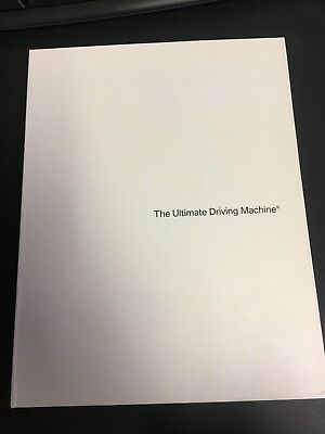 BMW The Ultimate Driving Machine Press Kit Welcome Pack DVD CD Books.