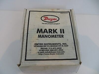 Dwyer Mark II Manometer made in USA loc741