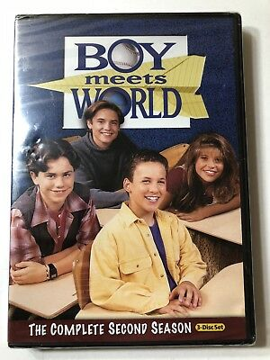 BRAND NEW - Boy Meets World DVD Complete Second / 2nd Season