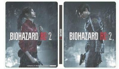 PSL BIOHAZARD RE: 2 Steel book only Resident Evil GEO LIMITED PlayStation 4