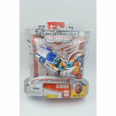 TRANSFORMERS Cybertron Clocker Figure*NEW/Sealed*Speed Planet/Scout Class
