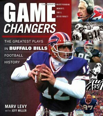 GAME CHANGERS BUFFALO BILLS (50 Greatest Plays) by MARV LEVY Book The Cheap Fast
