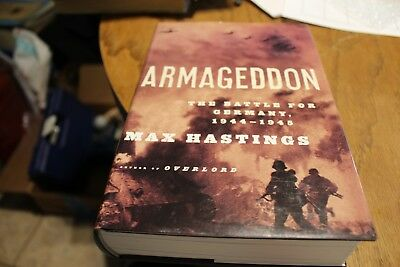 Armageddon The Battle For Germany  1944-1945  Max Hastings