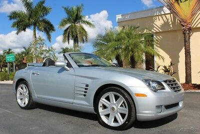 2008 Chrysler Crossfire Limited 2008 CHRYSLER CROSSFIRE FLORIDA CONVERTIBLE 30K MILES TWO TONE INT AUTO