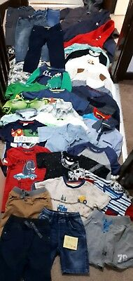 Massive Bundle Of Boys Clothes 4-5years #511 F&F STAR WARS MARVEL ADIDAS GEORGE