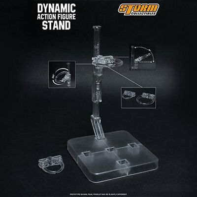 Storm Collectibles Dynamic Action Figure Display Stand for Humanoid Clear USA