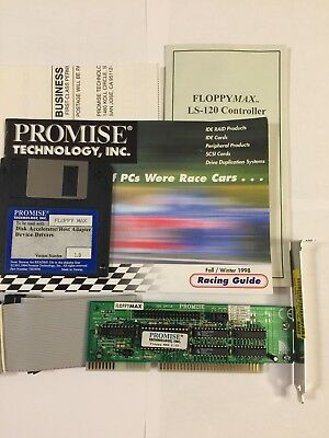 Vintage Promise Technology  IDE CTRL for LS120 / CD / Hard Drive Controller ISA