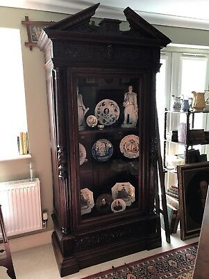 Fantastic Substantial French Antique Display Cabinet / Bookcase 1880-90