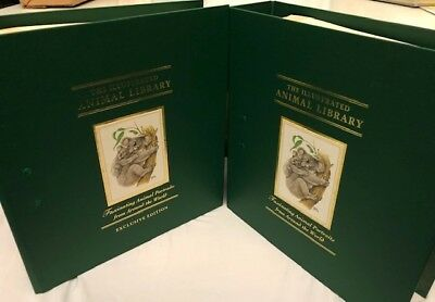 The Illustrated Animal Library-Mammals 1-150 (2 binders) with Portrait Art