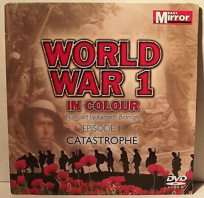 World War One In Colour - Episode 1 Catastrophe DVD