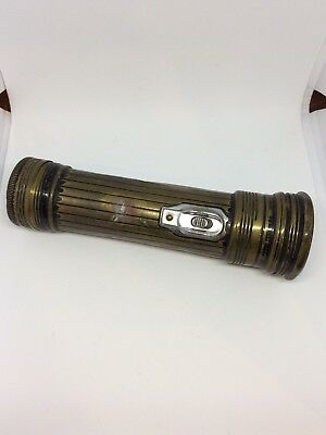 Vintage Marked Eveready Made in U.S.A Flashlight Great Patina!