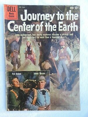 Dell Movie Classic Comic: Journey to the Center of the Earth (VG+) 1959
