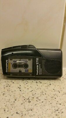 Olympus Pearlcorder S710 Microcessette Recorder