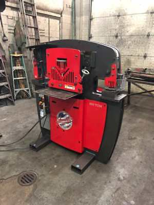 2014 Edwards 100 Ton Hydraulic Ironworker (#3096)